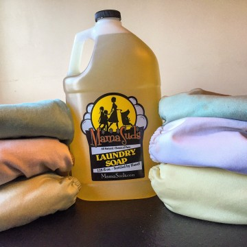 All natural liquid laundry detergent